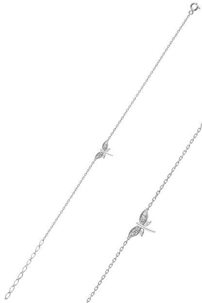 Söğütlü Silver Gümüş Rodyumlu Yusufçuk Bileklik
