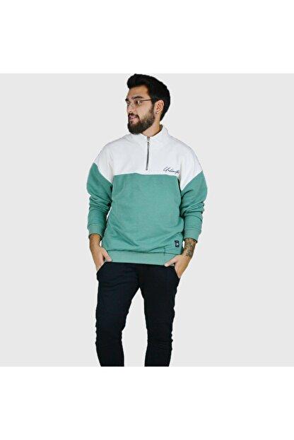 Trendbir Yeşil Sweatshirt Erkek Trend Giyim