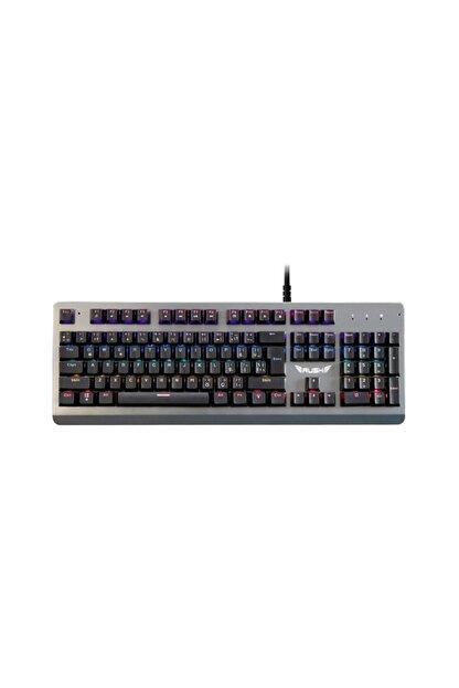 Rush Paladın Rk910 Metal Rgb Oyuncu Gaming Gerçek Mekanik Klavye