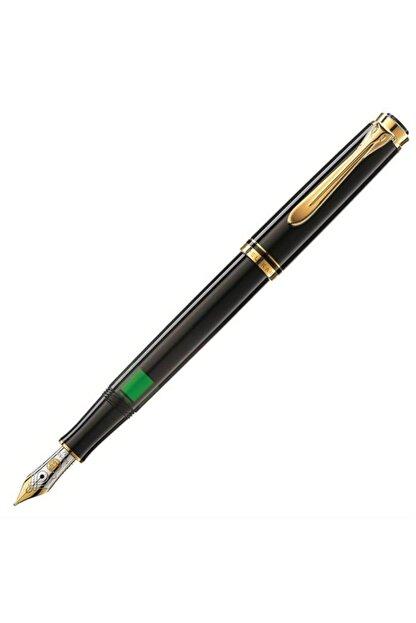Pelikan M300 Dolma Kalem 14 Ayar Altın Kaplama Siyah Pel-m300s