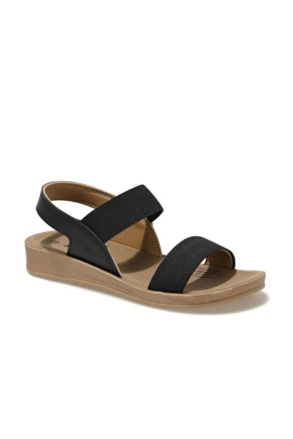 Polaris 161095.Z1FX Siyah Kadın Sandalet 101019798