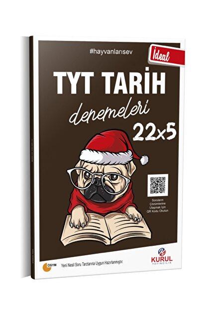 Kurul Yayıncılık 2021 Tyt Ideal 22x5 Tarih Denemeleri Qr Kod Çözümlü