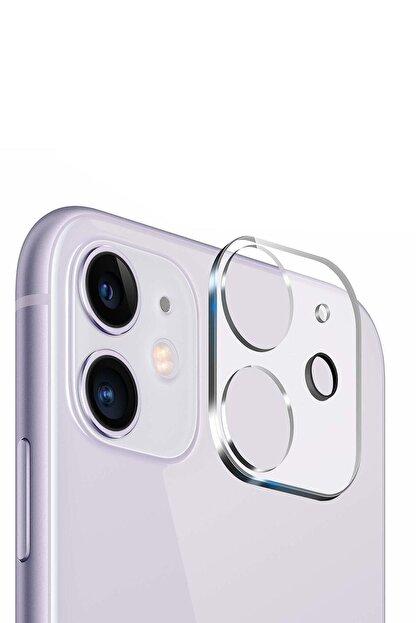 YGT Iphone 11 Uyumlu 3d Kamera Lens Koruyucu