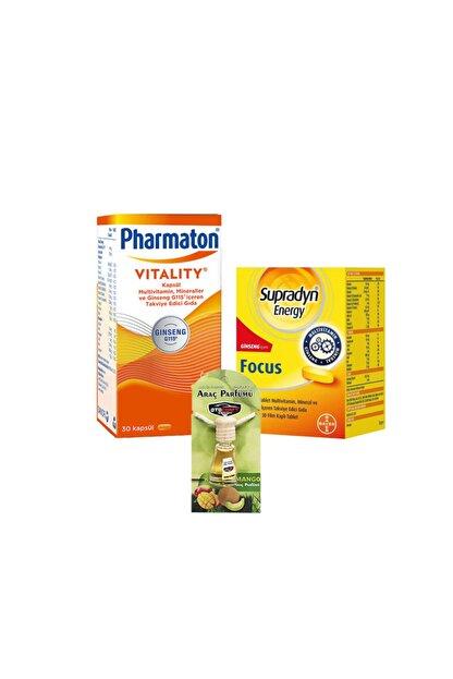 Pharmaton Vitality & Supradyn Energy Focus Seti