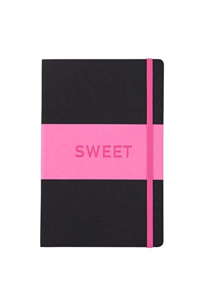 Matt Notebook 14x22 Sert Kapak Defter Çizgili Pembe