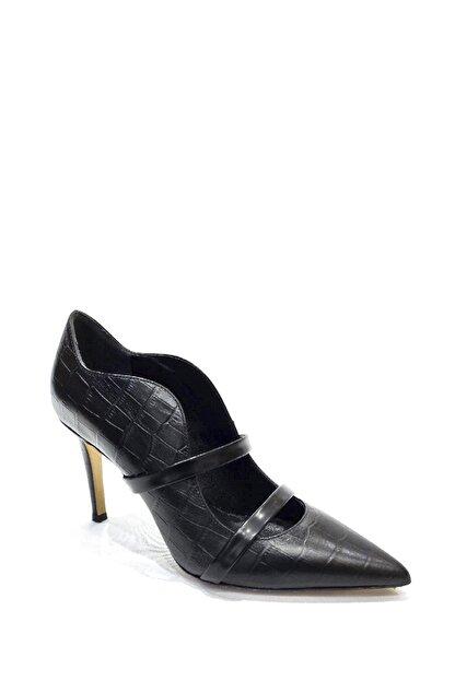 Poletto Hakiki Deri Klasik Topuklu Ayakkabı Plt19y-4924 21