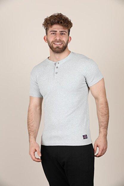 ALEXANDERGARDI Düğmeli Bisiklet Yaka T-shirt (E19-08109)