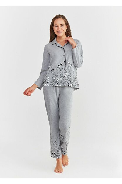 Suwen Pearl Maskulen Pijama Takımı