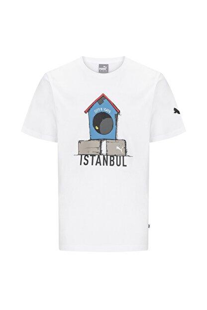 "Puma Istanbul Collectıon ""cıty Of Cats"" T-shirt"