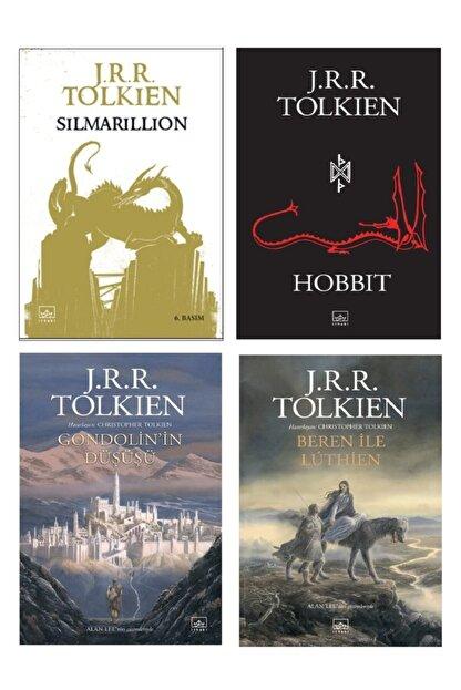 İthaki Yayınları J.r.r. Tolkien Seti 4'lü Kitap; 1-simarillion 2-hobbit 3-gondolin'in Düşüşü 4-beren Ile Luthien