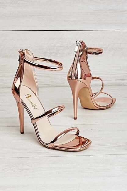 Bambi Rose Kadın Abiye Ayakkabı K01527472139