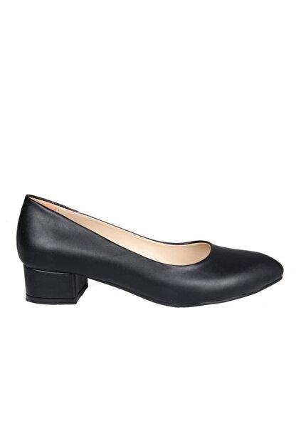 PUNTO 372008 Siyah Kadın Stiletto