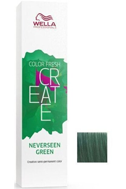 Wella Color Fresh Create - Neverseen Yeşil
