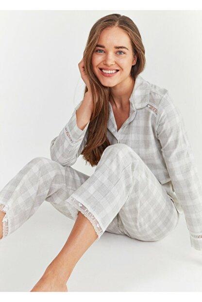 Suwen Sofia Maskulen Pijama Takımı