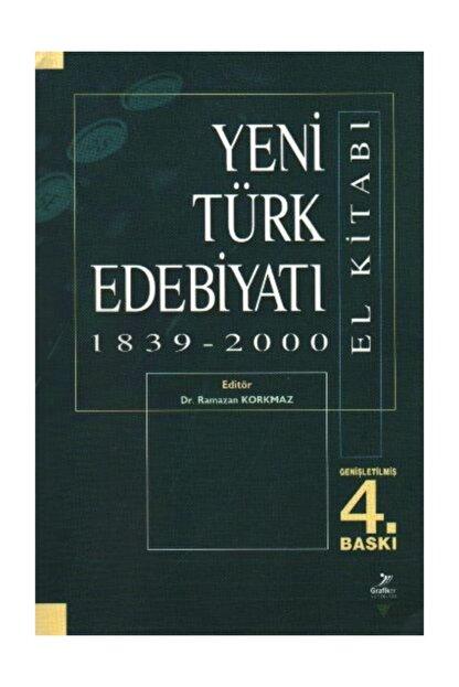 Grafiker Yayınları Yeni Türk Edebiyatı El Kitabı 1839 2000