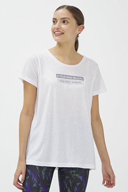 Penti Beyaz Reflected Tişört