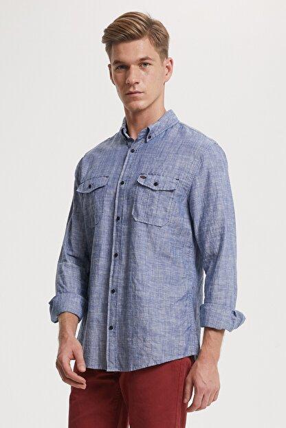 Lee Cooper Erkek Elian Uzun Kol Gömlek 192 Lcm 241007