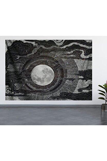 ALAMODE Ay Model Duvar Örtüsü (70X100, 100X140, 140X200) Duvar Halısı