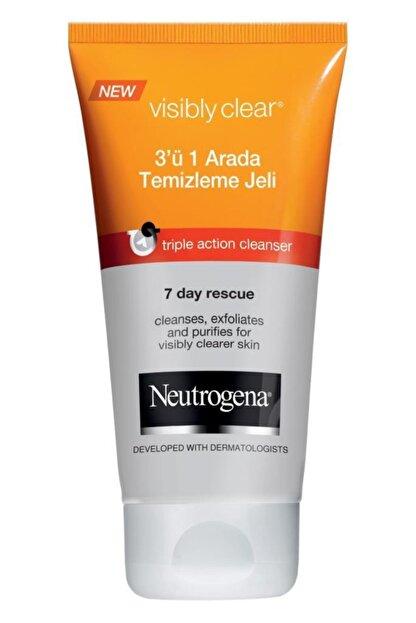 Neutrogena 3'ü 1 Arada Temizleme Jeli 100 ml