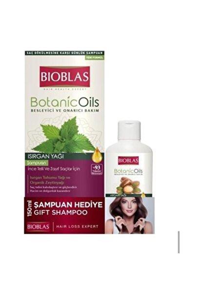 Bioblas Botanic Oils Isırgan Otlu Zayıf Saç Şampuan 360ml + 150ml