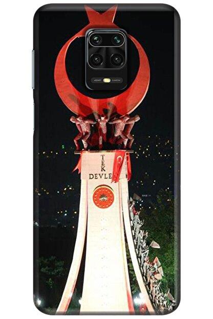 Noprin Xiaomi Redmi Note 9s Kılıf Silikon Baskılı Desenli Arka Kapak