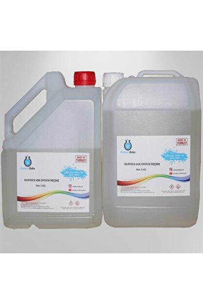 Kimyacıbaba Şeffaf Epoksi Reçine Kalın Döküm Tipi Dupoks 40a/40b 7 Kg Set
