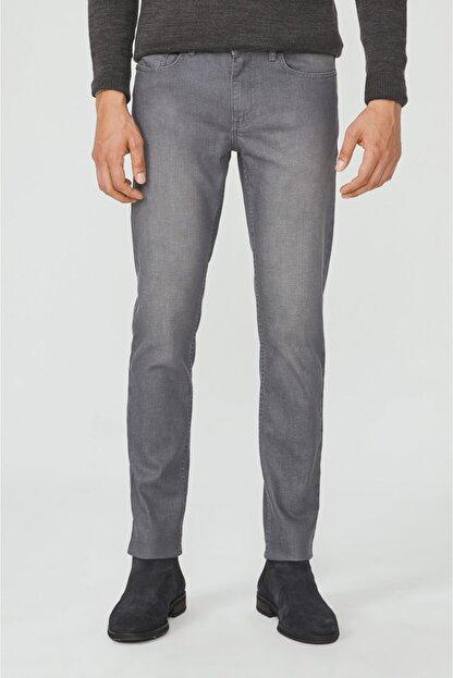 Avva Erkek Gri Slim Fit Jean Pantolon E003504