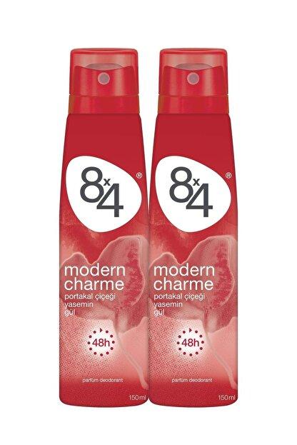 8x4 Modern Charme Kadın Deo Sprey 150 ml 2 Adet