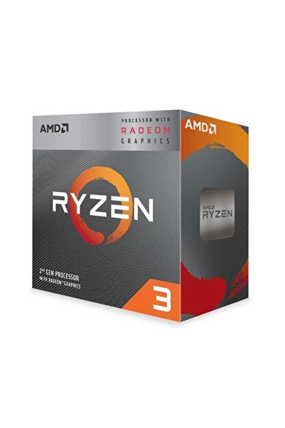 Amd Ryzen 3 3200g Mpk 3.6 Ghz (4.0 Ghz Max.) Soket Am4 Yd3200c5fhmpk