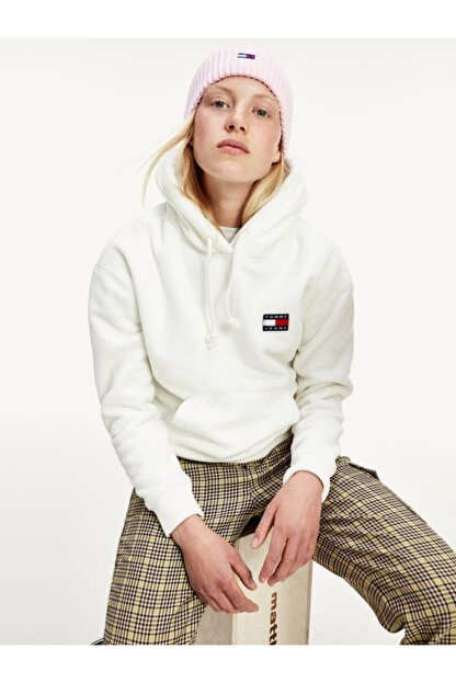 Tommy Hilfiger Tjw Badge Polar Fleece Hoodıe