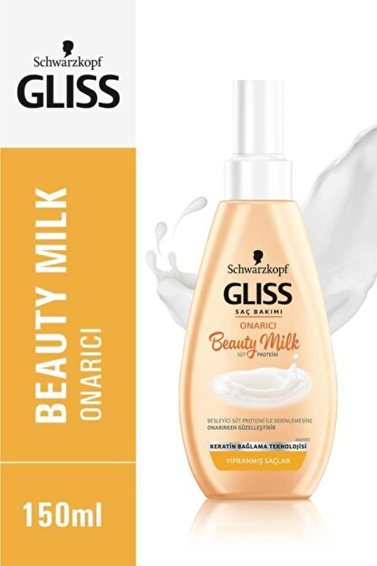 Gliss Schwarzkopf Gliss Beauty Milk-Onarici Bakim Sütü 150 Ml