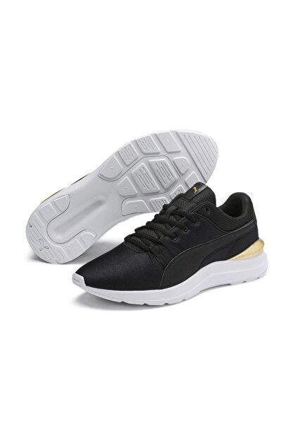Puma Kadın Siyah Bağcıklı Spor Ayakkabı