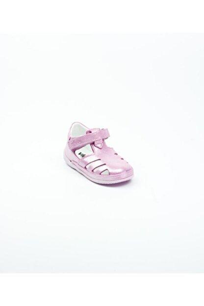 Vicco Unisex Pembe Ilk Adım Deri Ayakkabı