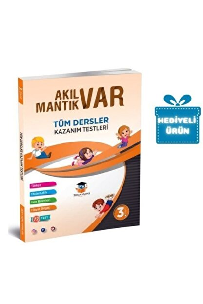 Zeka Küpü Yayınları Zekaküpü 3.sınıf Akıl Var Mantık Var Tüm Dersler Kazanım Testleri