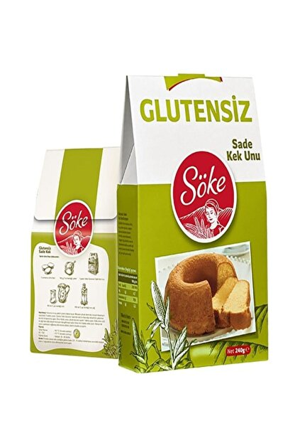 Söke Glutensiz Sade Kek Unu 240 gr