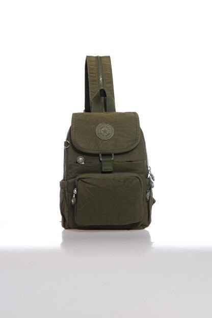 Smart Bags Kadın Koyu Yeşil Sırt Çantası Smbk1138-0029