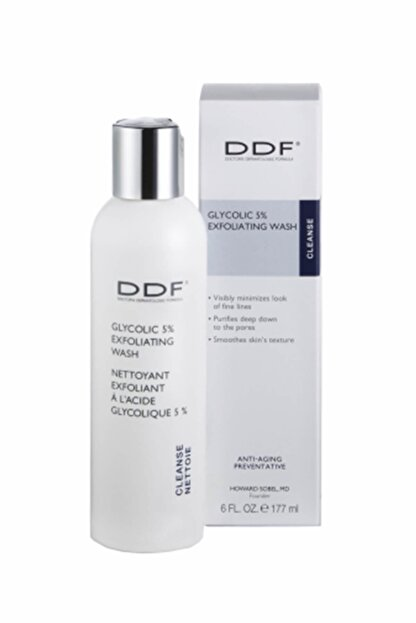DDF Glycolic Exfoliating Wash 5% 177 ml