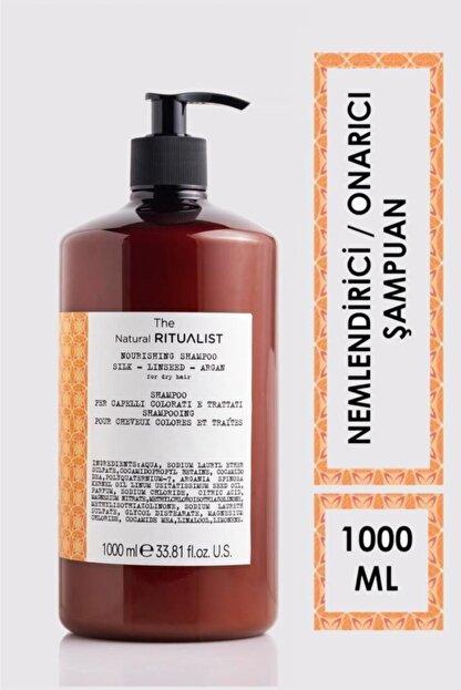 The Natural Ritualist Argan Kuru Ve Yıpranmış Saçlar Için Onarıcı Şampuanı 1000 ml