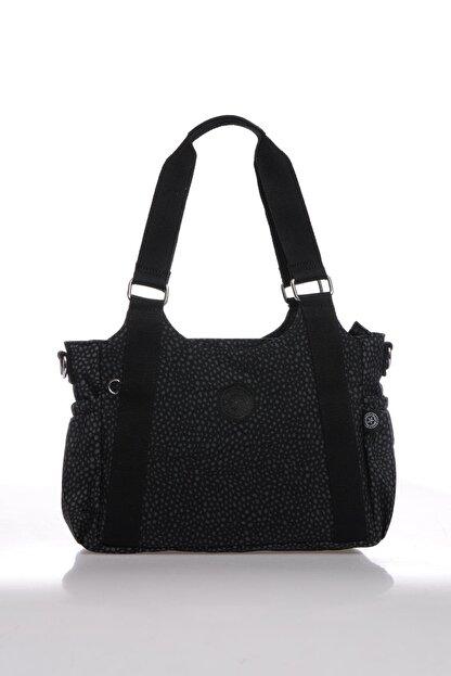 Smart Bags Kadın Siyah Puantiyeli Omuz Çantası Smbk1163-0091