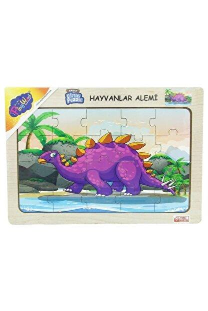 ONYIL Ahşap Hayvanlar Alemi Puzzle