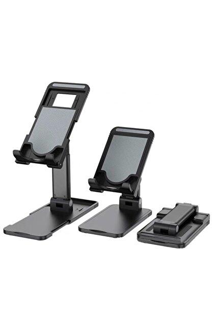 Premium Ticaret Portatif Ayarlanabilir Katlanır Telefon Ve Tablet Masaüstü Standı Tutucu