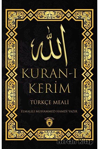 Dorlion Yayınevi Kur'an-ı Kerim Türkçe Meali