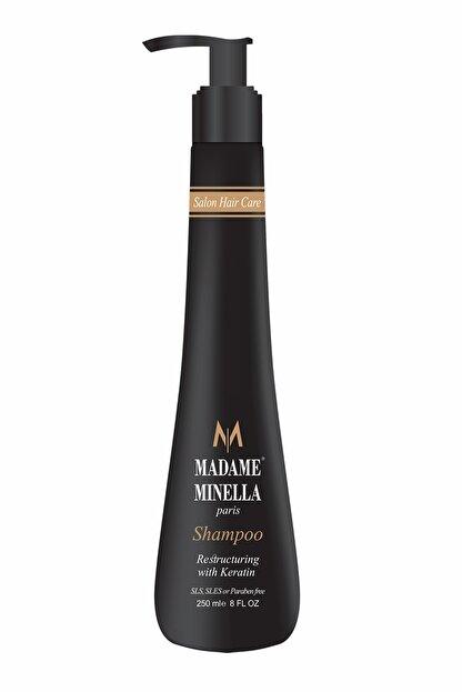 MADAME MİNELLA Madame Mınella Onarıcı Keratın Bakım Şampuanı 250 Ml