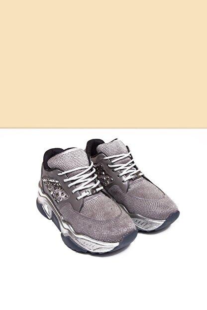Pierre Cardin PC-30420 Platin Kadın Spor Ayakkabı