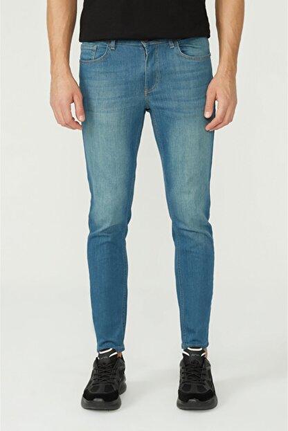 Avva Erkek Mavi Skinny Fit Jean Pantolon E003507