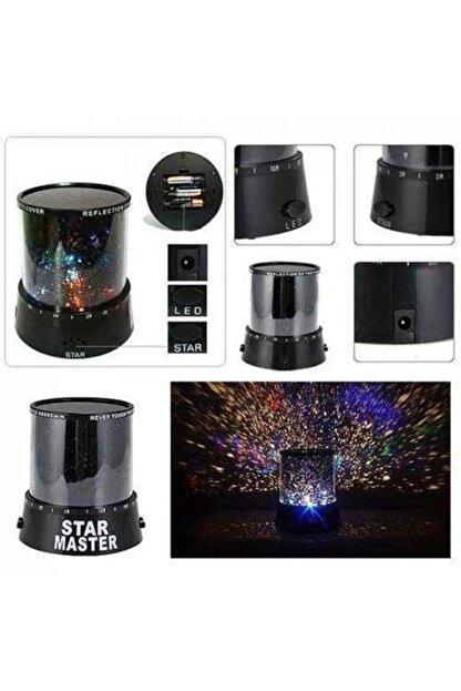 kartalshopping Star Master Pilli Projeksiyonlu Led Yıldızlı Renkli Gece Lambası