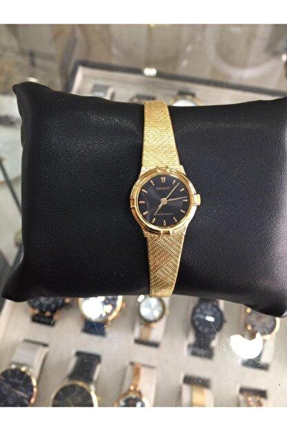 Orient Gold Renk Ince Hasır Kordon Bayan Saat
