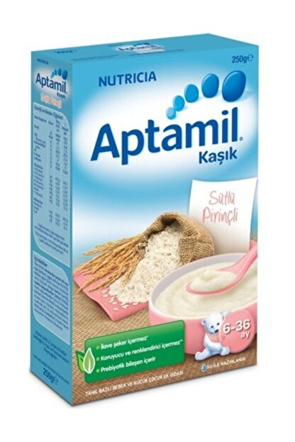 Aptamil Sütlü Pirinçli Kaşık Maması 250gr