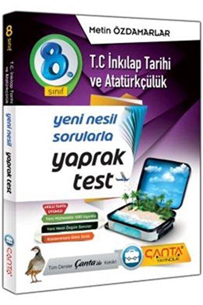 Çanta Yayıncılık Çanta Yayınları 8.sınıf T C Inkılap Tarihi Yaprak Test