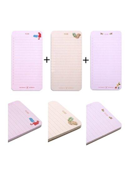 Victoria's Journals To Do List 3lü Set
